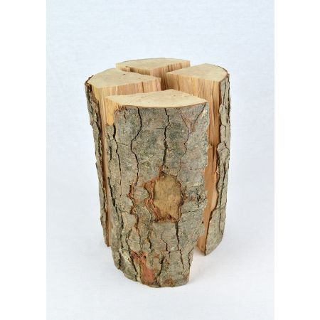 Φυσικός κορμός ξύλου κομμένος σε 4 κομμάτια 16-25cm