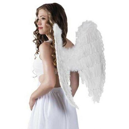 Διακοσμητικά Φτερά αγγέλου Λευκά 65x65cm