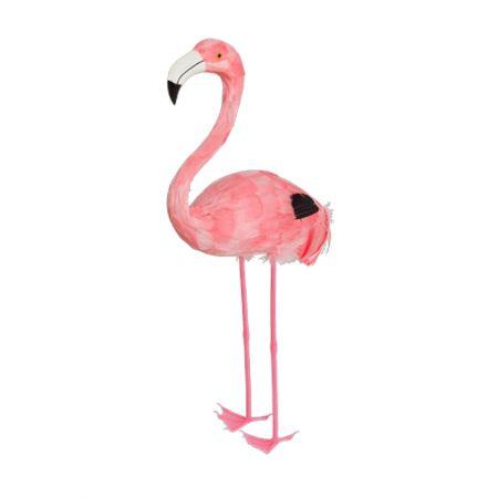Διακοσμητικό Φλαμίνγκο Ροζ όρθιο 55cm