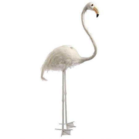 Διακοσμητικό Φλαμίνγκο Λευκό 83cm