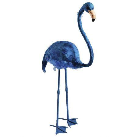 Διακοσμητικό Φλαμίνγκο Μπλε 83cm
