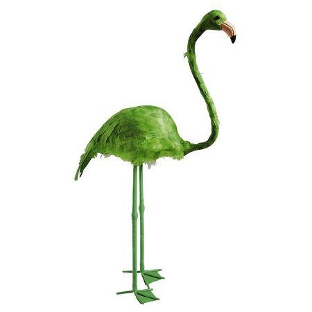 Διακοσμητικό Φλαμίνγκο Πράσινο 83cm