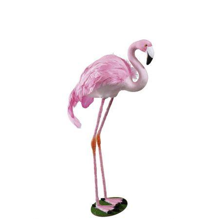 Διακοσμητικό Ροζ Φλαμίνγκο όρθιο 49x25cm