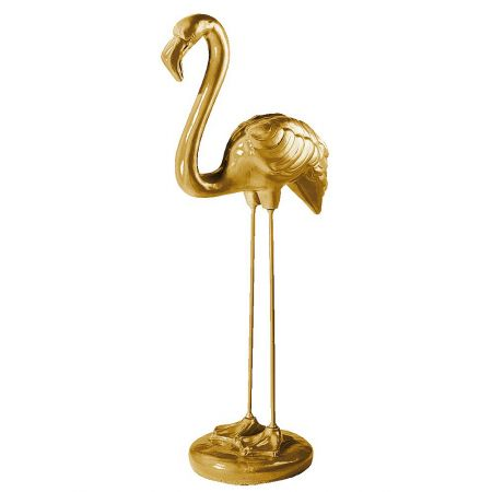 XL Διακοσμητικό Χρυσό Φλαμίνγκο όρθιο 118x50cm