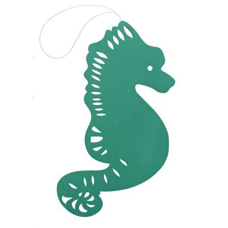 Διακοσμητικός κρεμαστός ιππόκαμπος Πράσινος 40cm