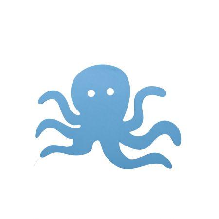 Διακοσμητικό κρεμαστό χταπόδι Γαλάζιο 30cm