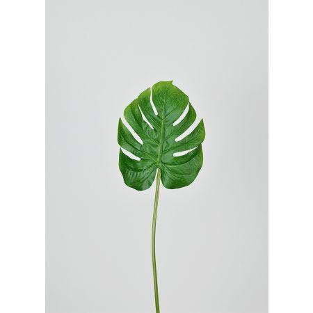 Διακοσμητικό εξωτικό φύλλο Μονστέρα 40cm