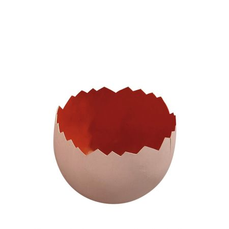 Σπασμένο πασχαλινό αυγό Πορτοκαλί 22x18cm