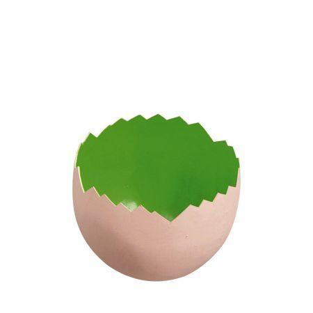 Σπασμένο πασχαλινό αυγό Πράσινο 22x18cm