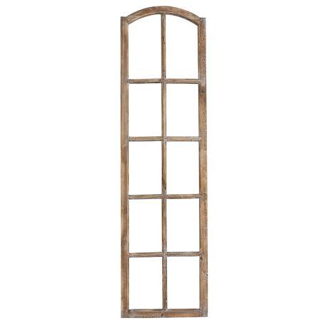 Διακοσμητικό παράθυρο ξύλινο 50x180cm