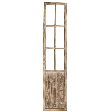 281.009.0014.08 Διακοσμητικό παραθυρόφυλλο ξύλινο Φυσικό καφέ 40x179cm