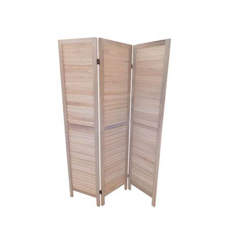 Διακοσμητικό Παραβάν Ξύλινο 120x170cm