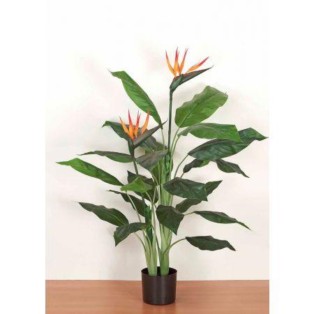 Τεχνητό φυτό Στρελίτζια σε γλάστρα 120cm