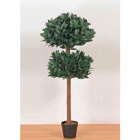 Τεχνητό φυτό Δάφνη μπάλα διπλή σε γλάστρα 120cm