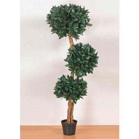 Τεχνητό φυτό Δάφνη μπάλα τριπλή σε γλάστρα 150cm