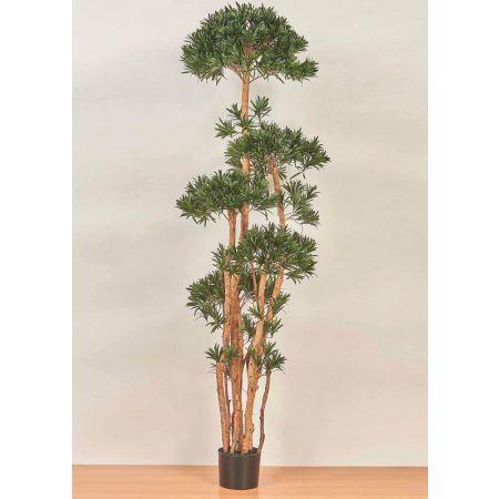 Τεχνητό φυτό Ποδόκαρπος σε γλάστρα 200cm