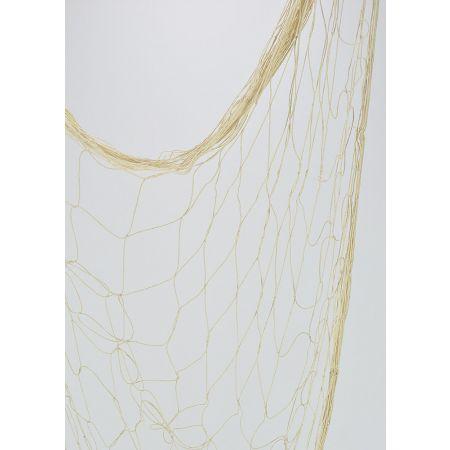 Διακοσμητικό δίχτυ ψαρέματος λεπτό Μπεζ 300x300cm