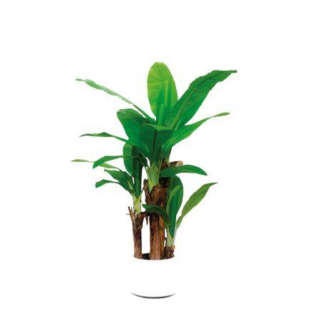 Διακοσμητικό τεχνητό φυτό μπανανιά σε γλάστρα 160cm