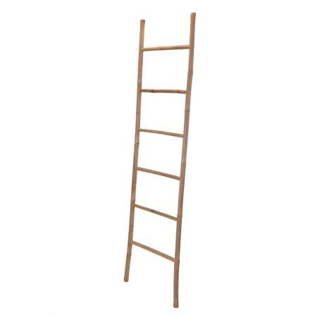 Διακοσμητική Σκάλα Μπαμπού - 6 Πατήματα 190x50cm