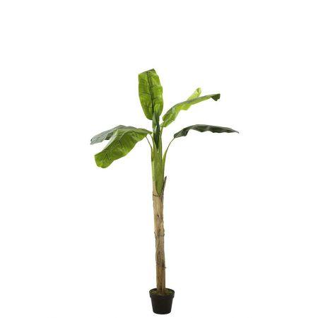 Διακοσμητικό Τεχνητό δέντρο - Μπανανιά σε γλάστρα 160cm