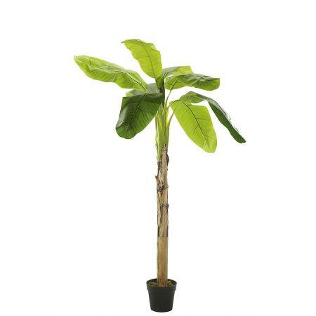 Διακοσμητικό Τεχνητό δέντρο - Μπανανιά σε γλάστρα 180cm