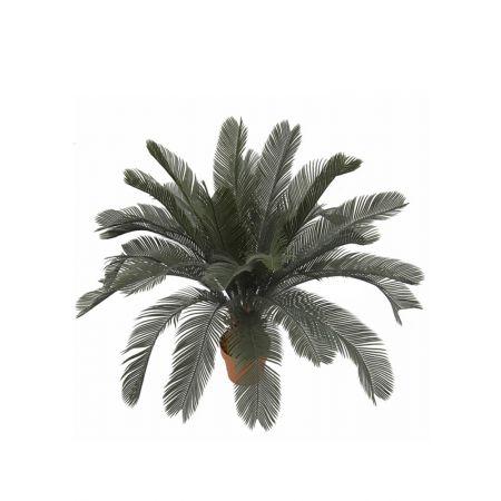Διακοσμητικό Τεχνητό φυτό Cycard σε γλάστρα 90cm