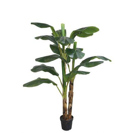 Real Touch Τεχνητό φυτό Μπανανιά σε γλάστρα 188cm