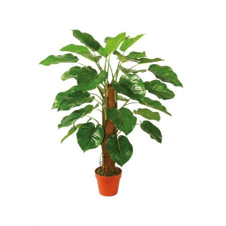 Τεχνητό εξωτικό φυτό Φυλλόδεντρο σε γλάστρα 100cm