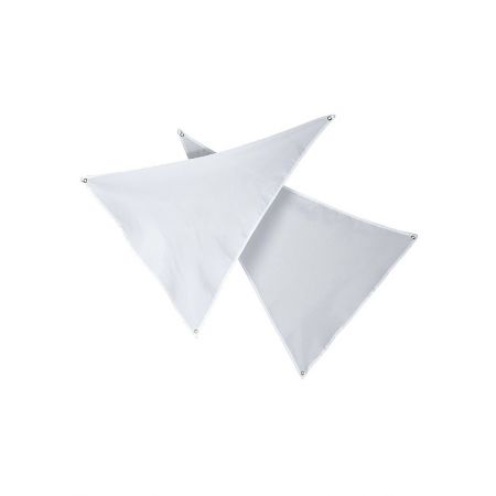 Διακοσμητικό πανί ιστιοφόρου Λευκό 110x76cm
