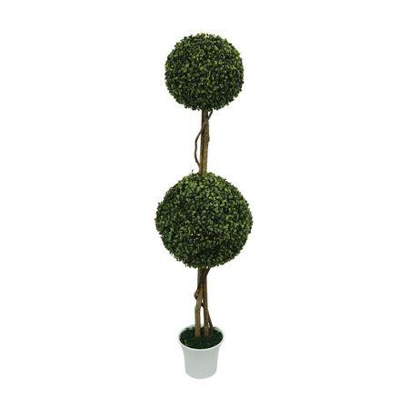 Τεχνητό φυτό μπάλα διπλή σε γλάστρα 120cm