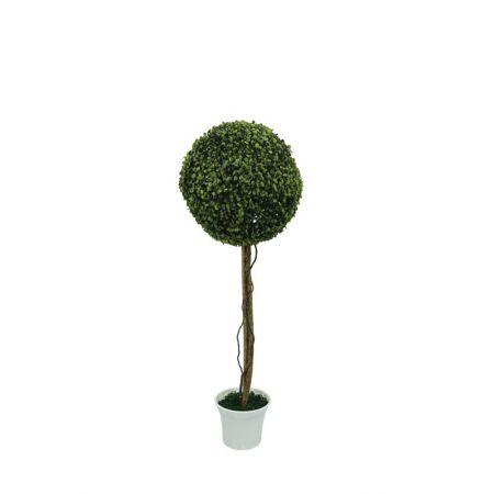 Τεχνητό φυτό μπάλα σε γλάστρα 90cm
