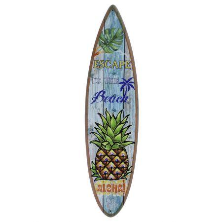 Διακοσμητική σανίδα του Surf ξύλινη 78x20cm