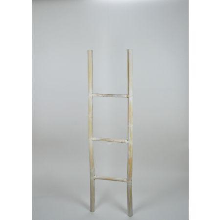 Διακοσμητική Σκάλα Ξύλινη - 3 Πατήματα 37x150cm