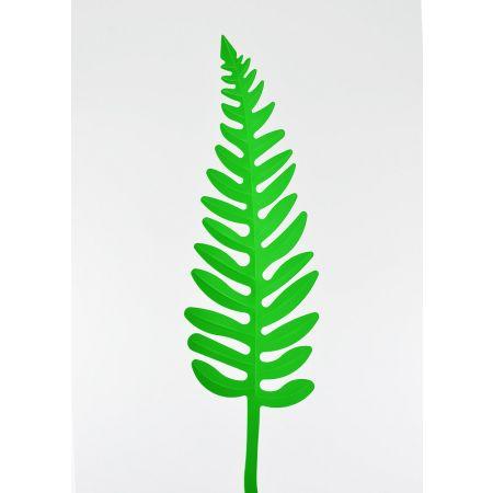 Φύλλο Φτέρης PVC Πράσινο 52x15cm