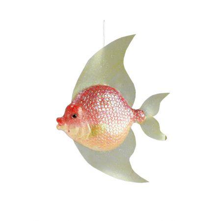 Διακοσμητικό τροπικό ψάρι -butterfly fish- 40x30x6cm
