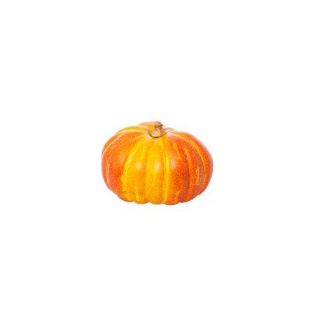 Διακοσμητική κολοκύθα Πορτοκαλί 20cm