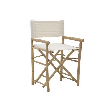 Καρέκλα σκηνοθέτη Μπαμπού 50x44x88cm