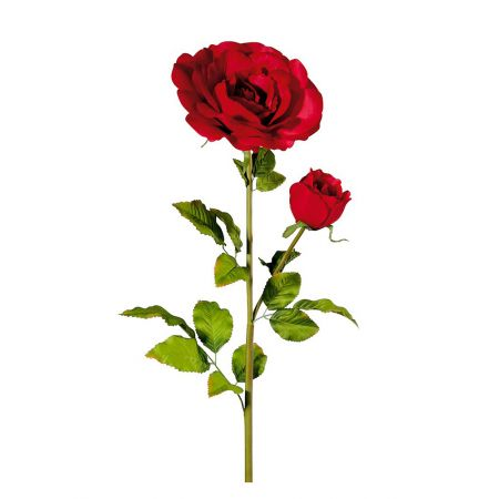 XL Διακοσμητικό τριαντάφυλλο Κόκκινο 120cm