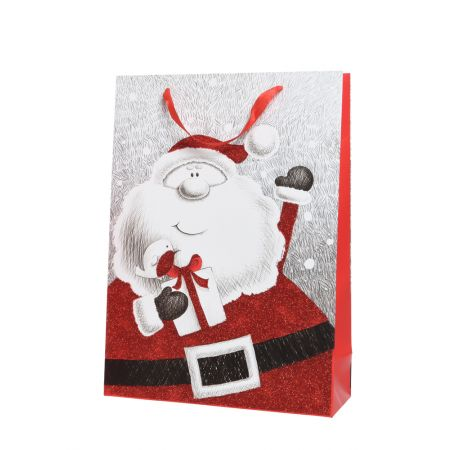 Χριστουγεννιάτικη χάρτινη τσάντα δώρου 72x50cm
