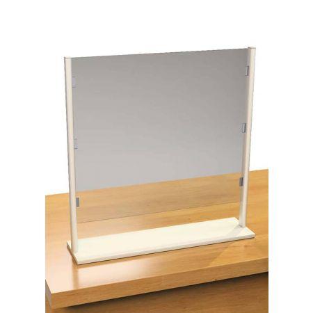 Επιτραπέζιο διαχωριστικό προστασίας PΕΤ 1mm 80x20x80cm