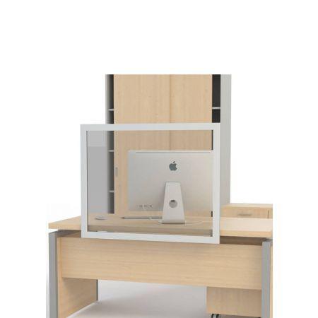 Επιτραπέζιο προστατευτικό διαχωριστικό γραφείου 100x80cm