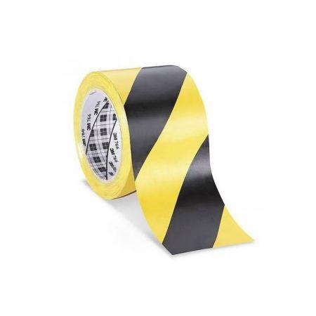 3M™ Ταινία βινυλίου 766 Σήμανσης Κίτρινη/Μαύρη, 50mm x 33M