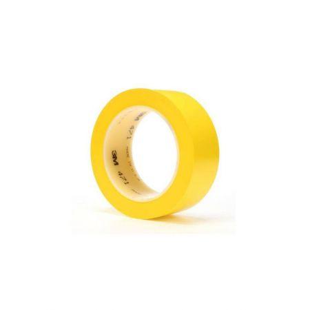 3M™ 471 Ταινία Βινυλίου Σήμανσης, Χρωματικής Διαγράμμισης 50mm x 33M, Κίτρινη