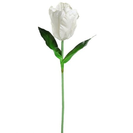 XXL διακοσμητική Τουλίπα Λευκή 150cm