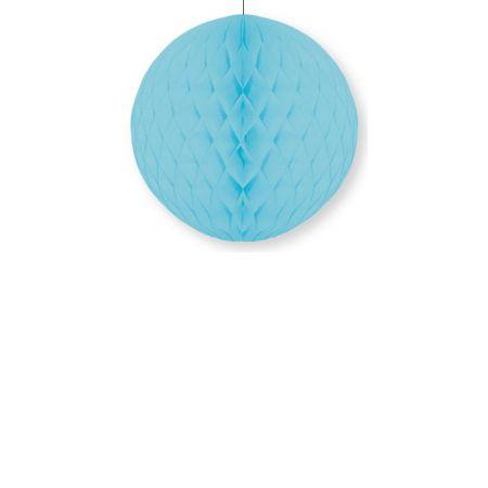 Διακοσμητική χάρτινη μπάλα κυψελωτή Τυρκουάζ 40cm