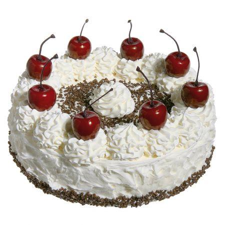 Διακοσμητική τούρτα Black Forest - απομίμηση 20cm