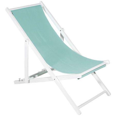 Διακοσμητική καρέκλα παραλίας για βιτρίνα Μέντα 110x56x70cm