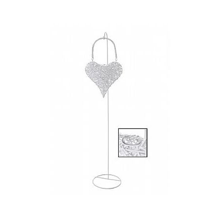 Διακοσμητικό Φανάρι-Καρδιά Μπαμπού 150cm