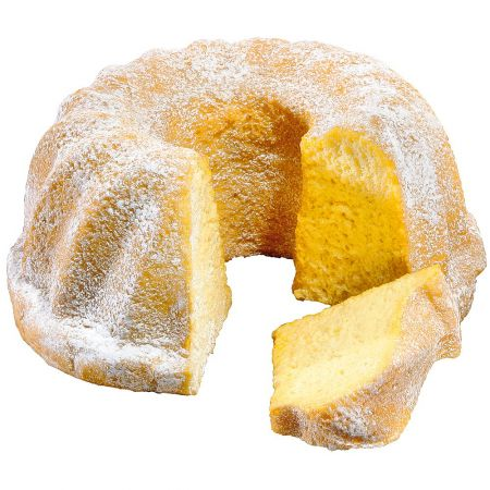 HQ Διακοσμητικό κέικ με άχνη ζάχαρη απομίμηση 22x10cm