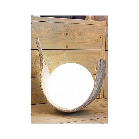 Διακοσμητική χριστουγεννιάτικη φωτιζόμενη μπάλα - σφάιρα φωτισμού LED 30cm